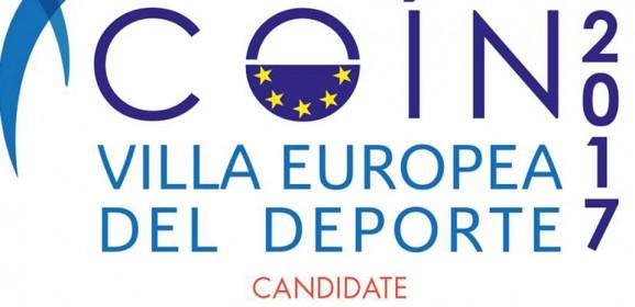 Villa Europea del Deporte 2017, Coín como candidata