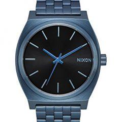 Nixon  A045-2666-00 – Reloj para hombre Time Teller 37 mm, Azul/Negro