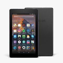 """Nuevo tablet Fire 7, pantalla de 7"""" (17,7 cm), 8 GB (Negro) – Incluye ofertas especiales"""