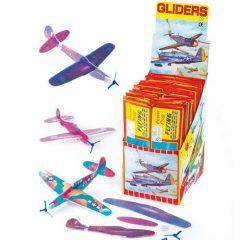 Baker Ross Aviones planeadores de 20 cm para regalar en concursos, juegos y fiestas infantiles (pack de 6)